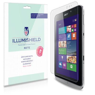 """iLLumiShield Matte Screen Protector w Anti-Glare/Print 2x for Acer Iconia W4 8"""""""