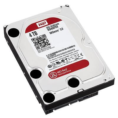 WD Red 4TB WD40EFRX, Festplatte, 3,5 Zoll, I.Power, 64 MB