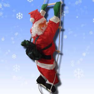 Animated outdoor christmas decorations - Christmas Ladder Ebay