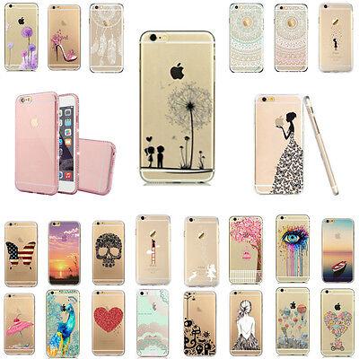 iPhone 5 5S 6 6S 6+ Plus Schutzhülle Handyhülle Hülle Tasche Cover Case