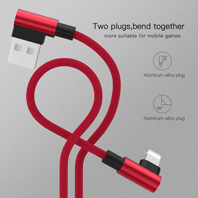 For i Phone X XR 6 6S 7 8 Plus Lightning To USB Charger Cable Lead 1M 1.5M 2M 3M