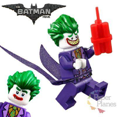 Joker Maßgeschneidert Minifigur Passt Lego Toy Batman Movie PG100