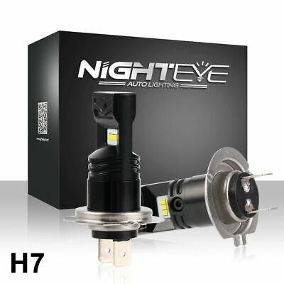 NIGHTEYE H7 160W Fog LED Light Bulbs DRL Headlight 6500K Daytime Xenon White UK