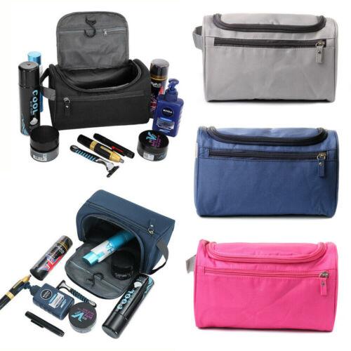 Waterproof Travel Wash Bag Mens Women Toiletry Organizer Sha
