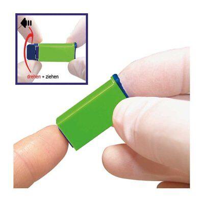 100x Sterilance Press II Sicherheitslanzetten Lanzetten Stechhilfe Blutlanzetten
