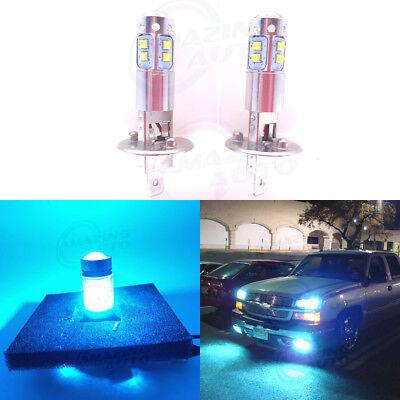 NEW 2x H1 8000K Ice Blue 100W CREE LED Headlight Bulbs Kit Fog Driving Light DRL for sale  Chino