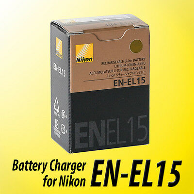 NEW EN-EL15 Battery for Nikon D600 D610 D750 D7100 D7200 D800 D810 V1 ~US Seller