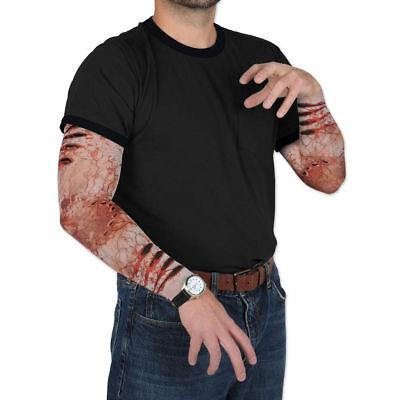 Erwachsene Blutig Arm Narbe Halloween Kostüm Blood Zombie Fleisch Gore Make-Up](Halloween Blutig)