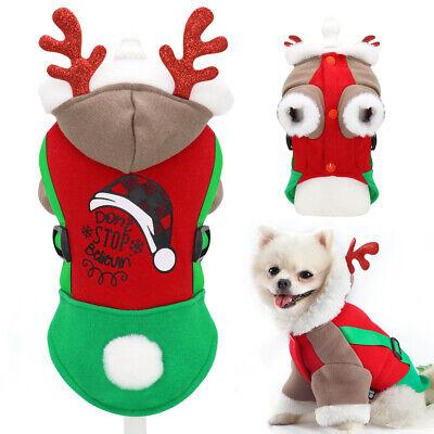 Hundekostüm Weihnachten für Katzen Kleine Hunde Hundepullover Warm - Hund Kostüme Für Weihnachten
