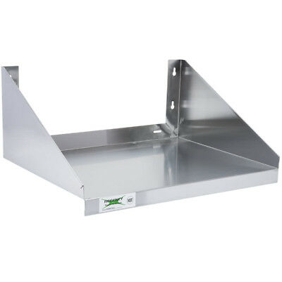 24 X 18 Stainless Steel Commercial Restaurant Wall Mount Microwave Shelf Nsf