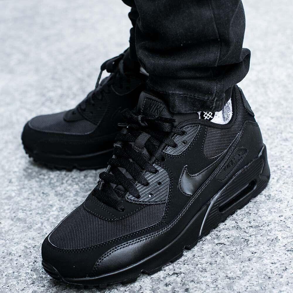 huge discount de37d fdd0b Nike Air Max 90 Triple Black | in Exeter, Devon | Gumtree
