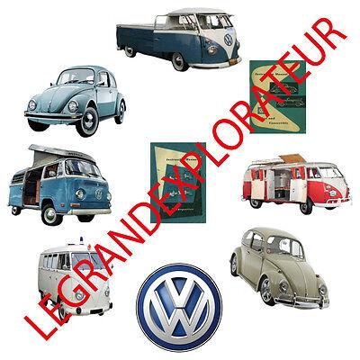 Ultimate VW Vanagon Westfalia Beetle Owner Repair Workshop Service Manual on DVD for sale  Quebec