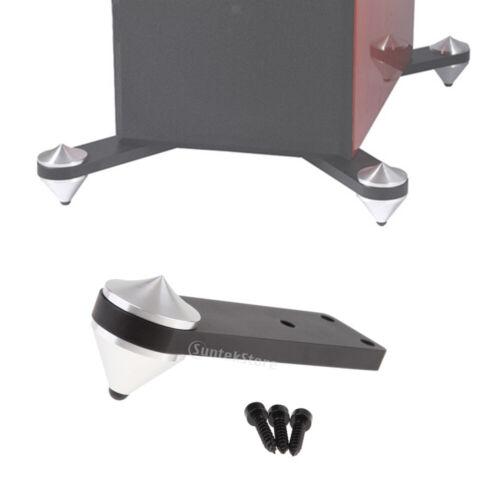 premium aluminium speaker spike shock absorbing isolation