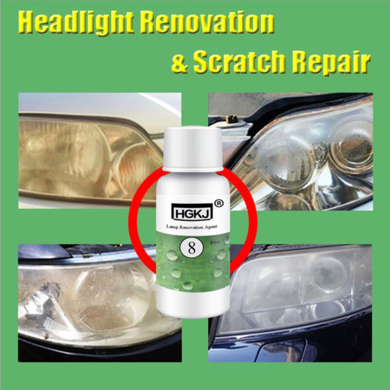 Car Repair Renewal Kit Headlight Repair Liquid Lamp Renovation Agent Cleaning Brightener Restoration Car Scratch Remover Motorcycle Accessories & Parts Engines & Engine Parts