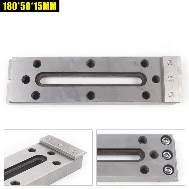 US Wire Cut EDM Fixture Lathe Jig Board Tool For Clamping & Leveling 180*50*15mm