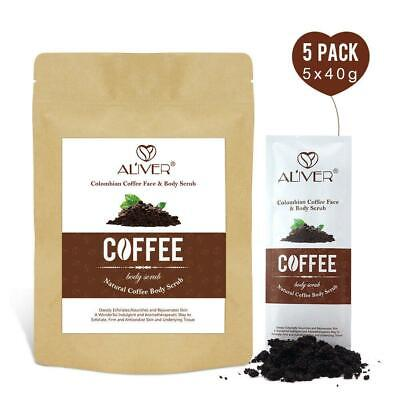 Colombian Coffee Natural Body Scrub Exfoliating Anti-Cellulite Stretch Marks
