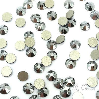 144 Swarovski 2058 5ss Flatback nail art 1.8mm ss5 CRYSTAL LIGHT CHROME 001 LTCH
