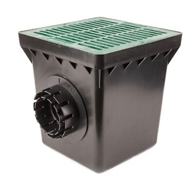 Tempo Basin Kit-Grate Color:Green-Size:12 inch