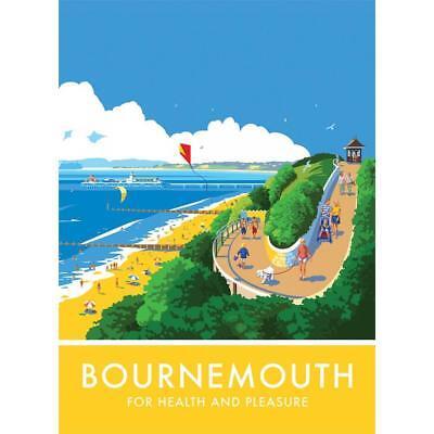 Bournemouth steel fridge magnet  pt   (se)