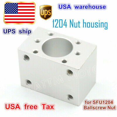 Us Dsg12h Ball Nut Housing Nut Bracket Holder For Sfu1204 Ballscrew Cnc Router