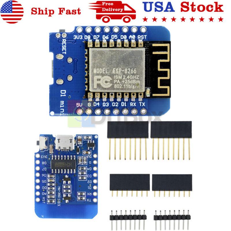 D1 Mini ESP8266 ESP-12 ESP12 WeMos D1 NodeMcu Lua Wifi Development Board