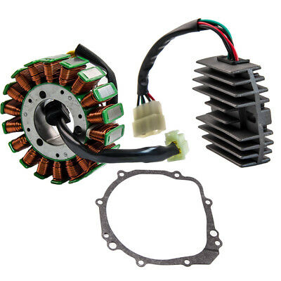 - Stator+Regulator Rectifier fit Suzuki GSXR600 GSX-R600 2001 2002 2003 gasket