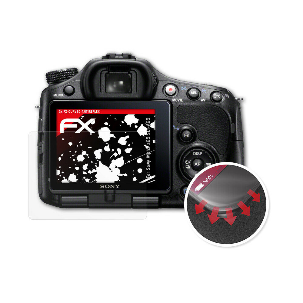 Effet Miroir FX Miroir Protection d/écran atFoliX Protection d/écran pour Sony Alpha a7 II ILCE-7M2 Miroir Film Protecteur