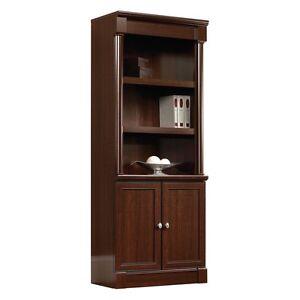 Bookcase With Doors Ebay
