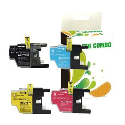 LC75 Ink for Brother MFC-J280W MFC-J425W MFC-J430W Printer BEST