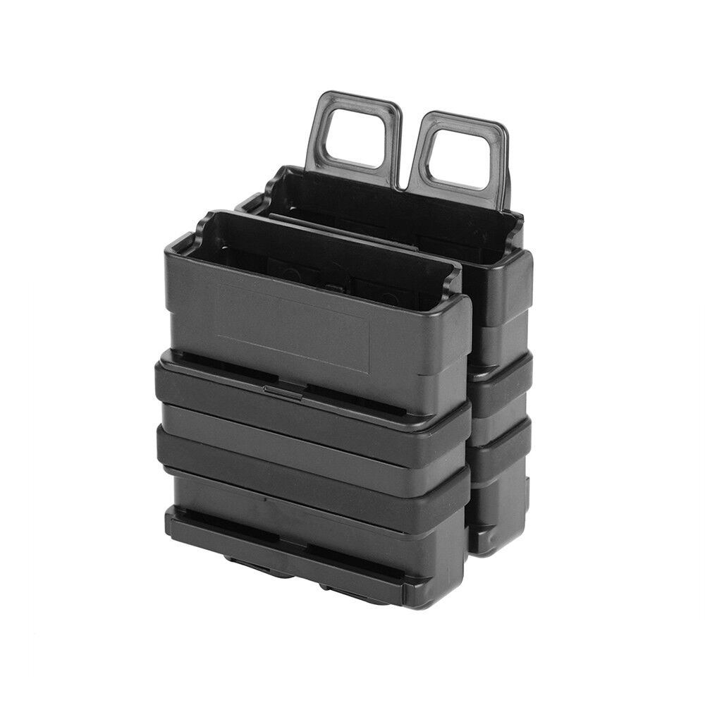 Tactical Double Stack Magazine Holder Gear Dual Mags for Ner