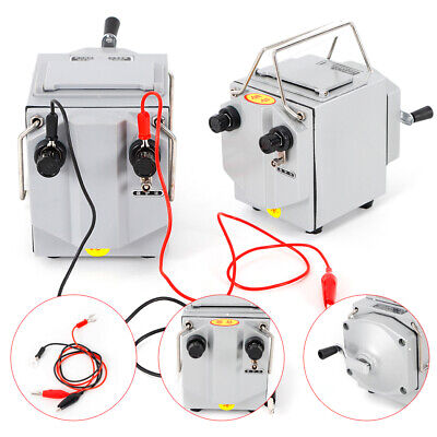Professional 1000v Megger Meter Insulation Tester Resistance Meter Plastic Shell