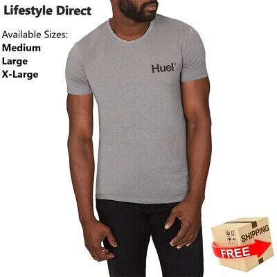 *BRAND NEW* Grey Huel Cotton T-shirts/Comfortable/Fitness