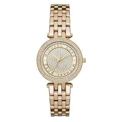 Michael Kors MK3445 Mini Darci Gold Wrist Watch for Women