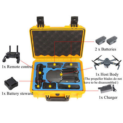 Waterproof Handbag Hard Shell Carring Case Storage Box For DJI Mavic Pro Drone