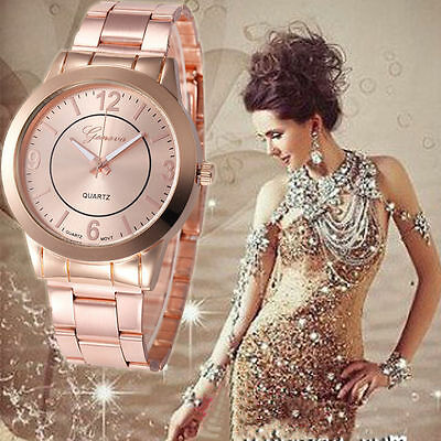 Fashion Man Women Retro Watch Stainless Steel Compass Quartz Analog Wrist Watch