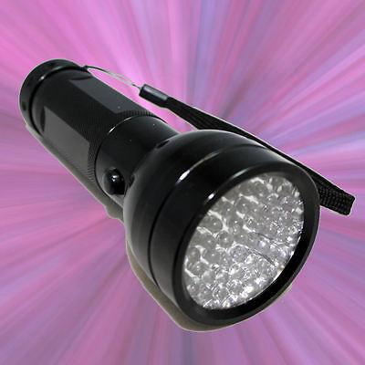 UV Ultra Violet Blacklight 51 LED Flashlight Torch Lamp Light ~SHIPS FROM USA