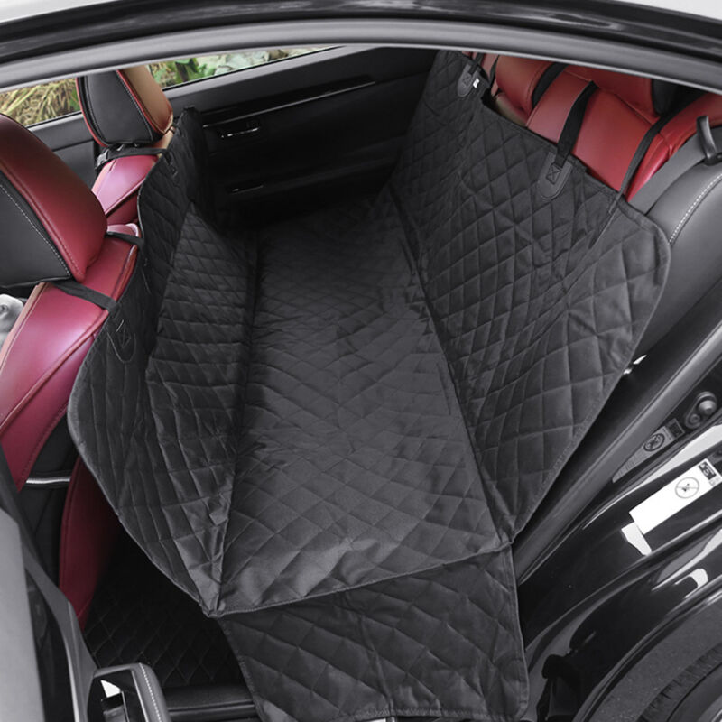 Waterproof Pet Dog Seat Hammock Cover Car Truck Back Rear Protector Mat Blanket