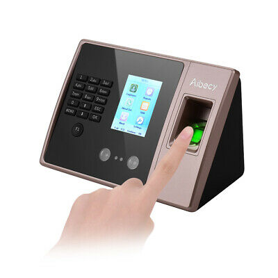 Hd 3d Biometric Wireless Face Recognition Fingerprint Attendance Machine M1f5