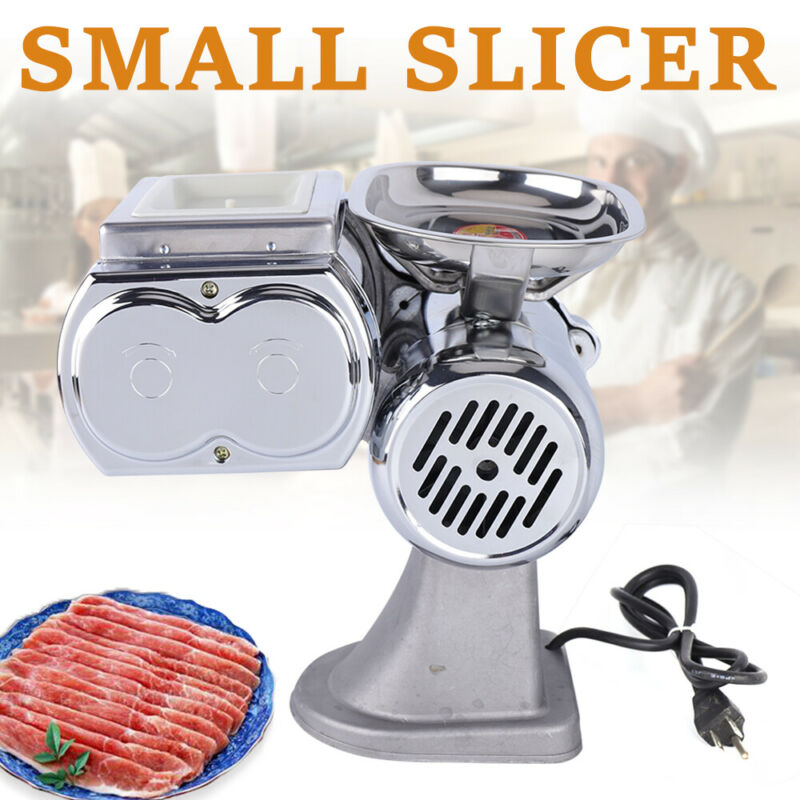 Electric Meat Cutting machine Commercial Meat Slicer Machine Kitchen Machine USA