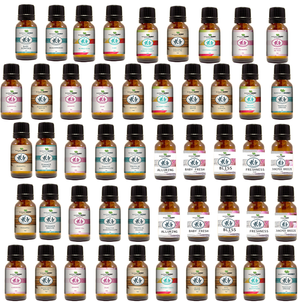 Premium Scented Fragrance Oil For Candle Soap Perfume Making Body Oils Candle Making & Soap Making