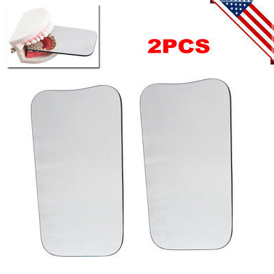 Us 2x Orthodontic Dental Intraoral Orthodontic Photographic Glass Mirror 2 Sided