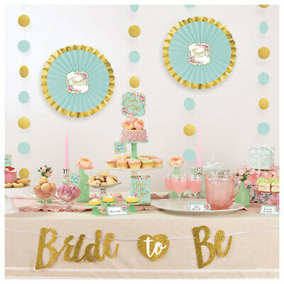 WEDDING AND BRIDAL Mint to Be BUFFET DECORATING KIT ~ Party Supplies Shower Cute - Mint Party Supplies
