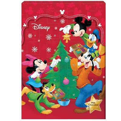 MICKEY MOUSE & Friends Chocolate ADVENT Calendar Christmas countdown FREE SHIP