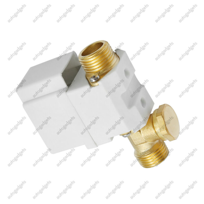 """1/2"""" Electric Solenoid Valve For Water Air 12V DC N/C Normally Closed 4.3W"""