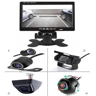 """RÜCKFAHRSYSTEM Monitor mit RÜCKFAHRKAMERA 17,8 cm 7"""" Zoll Auto Wohnmobil KFZ IR"""