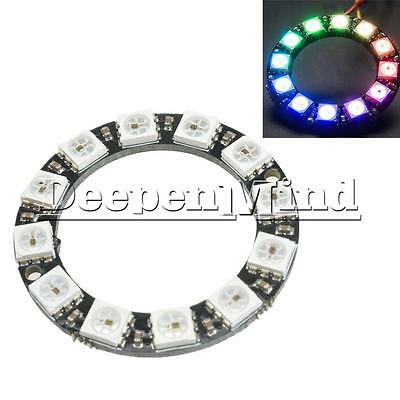 Integrated Drivers For Arduino A 16Bit RGB LED Ring WS2812 5050 RGB LED Module