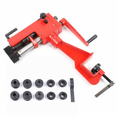 7 Sheet Metal Bead Roller Steel Rolling Bender Machine 6 Die Kit Low Carbon Us