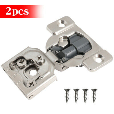 "20 Pcs 1/2"" Overlay Soft Close Hinge Face Frame 105° Compact Cabinet Hinges"