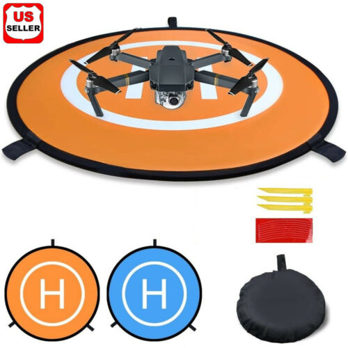 Drone Day&Night Landing Pad Launch Helipad For DJI Mavic Pro/Zoom Drone Parking Other RC Parts & Accs