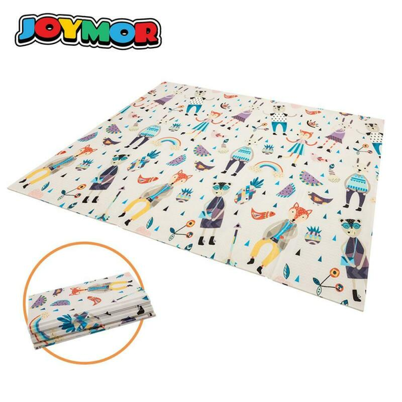 Foldable Toddler Baby Crawling Mat Floor Rug Blanket Kids Play Mat Picnic Mat